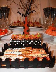 Halloween dessert bar!