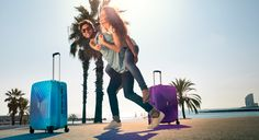 Malas jovens e divertidas com muita qualidade! #Malas #Viagens #Travel #ElCorteInglés