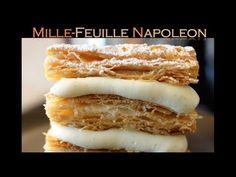 Mil folhas / Mille-Feuille Napoleon / creme pâtissière - Bruno Albouze - THE REAL DEAL - YouTube