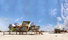 Organic Architecture: Hurricane Houses