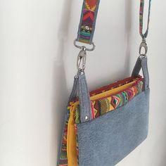 bizboudig Cha-cha-cha de Sacôtin en jean recyclé, ❤️, une turie à faire , forme simple , résulta extra !!!😍#sacotin #coutureaddict #couture #sac