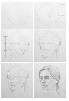 Uplifting Learn To Draw Faces Ideas. Incredible Learn To Draw Faces Ideas. Face Drawing Reference, Shading Drawing, Drawing Heads, Human Drawing, Pose Reference, Drawing People Faces, Drawing Art, Anatomy Reference, Face Profile Drawing