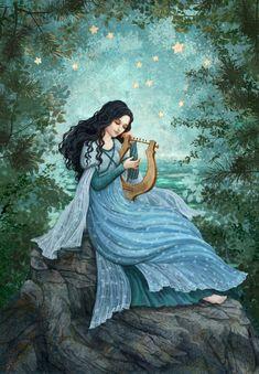 Fantasy Forest, Forest Art, Fantasy Art, Illustrations, Illustration Art, Elfen Fantasy, Royal Art, Witch Art, Fairytale Art