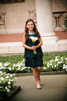 Junior bridesmaid - great style!