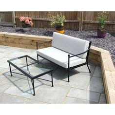 Harvington 2 Seater Sofa Set Gablemere Rattan Corner Sofa, Corner Sofa Set, Rattan Sofa, Outdoor Sofa, Outdoor Furniture Sets, Outdoor Decor, Sofa Set Online, Garden Sofa Set, Muebles Living