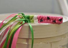 ribbon barrette
