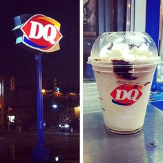 10 Secret Menu Items You Can Order At Fast Food Restaurants | DAIRY QUEEN FROZEN HOT CHOCOLATE | Another example of an item that was on the menu briefly but is now relegated to insider-only status, the DQ Frozen Hot Chocolate is simply hot chocolate blended with ice. It's rich and refreshing and even better topped with whipped cream.