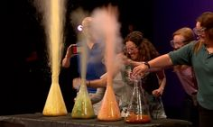 Science Bob's Crazy Foam Experiment at the World Science Festival