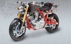 Ecosse Moto Works Experimental-6 (X-6) Motorcycle (via EcosseMoto.com)