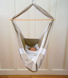 I'm obsessed with baby hammocks