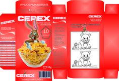 Packaging popular. Caja de cereales