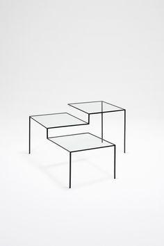Thin Black Lines Collection: table | table . Tisch | Design: Nendo | Phillips de Pury | Photo: Masayuki Hayashi |