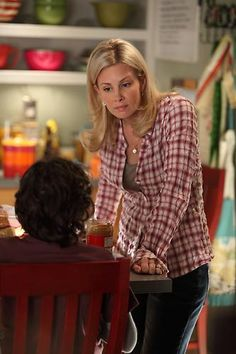 monica potter and max burkholder at the parenthood