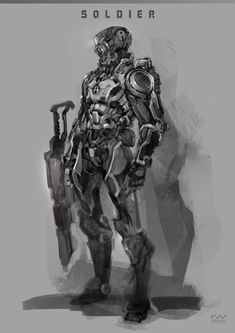 Soldier 01~08, Stato Ozo on ArtStation at https://www.artstation.com/artwork/d9VlQ