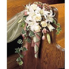 Hope and joy home diy wedding pew bows pew bows free pew decoration tutorial check out all the ideas this site has for decorating the junglespirit Choice Image