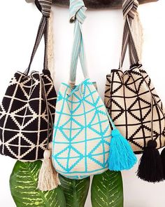 Which Wayuu bag is your favorite? Comment 1, 2, 3! :SHOP THESE ONLINE @ www.lombiaandco.com  .  .  .  .  .  .  .  .  .  Lombia + Co's mission is to create beautiful Wayuu pieces by empowering artisans through mentorship and fair trade purchase so they can support their families and continue to crochet these magical pieces. Which Wayuu bag best defines your style? Slow Fashion, Mens Fashion, Hard Work And Dedication, Ethical Clothing, Pretty Flowers, 3 Shop, Your Favorite, Bucket Bag, Your Style