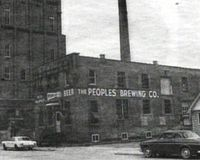 People's Brewing Company in Oshkosh, WI