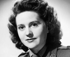 Odette Samson - a British spy working in occupied France during the WW2, a radio operator. Betrayed by a double agent a year later, Sansom was captured and tortured in a Paris jail. She did not divulge the identity of any colleagues, sent to a concentration camp, but her execution was never carried out and she survived the war, then spent years working for charities aimed to lessen the pain of war. Awarded the George Cross.