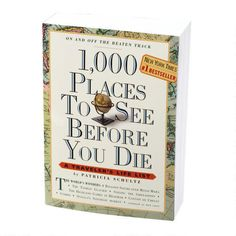 '1000 Places To See' Book -- Can this come in list and checkbox form?