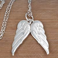OMG!! I have earrings that match this perfectly!!!   Angel Wings from @NOVICA, They help #artisans succeed worldwide.