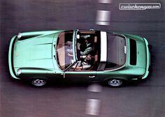 In den Siebzigerjahren durften Autos noch Farbe tragen, wie dieser Porsche 911 Targa .. Mehr Autos aus den Siebzigerjahren: http://www.zwischengas.com/de/bildermagie/70s