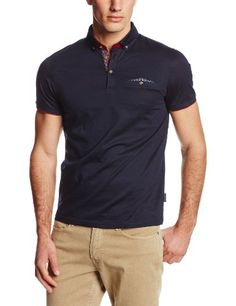 Ted Baker Men's Short Sleeve Jersey Polo Shirt, Navy, 4 Ted Baker,http://www.amazon.com/dp/B00H40XSRG/ref=cm_sw_r_pi_dp_cSkHtb0K0JN5MS3K