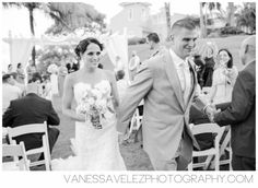 "Two became one as they said ""I DO"" at Casitas Garden at El Conquistador Resort.  Destination Wedding 