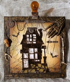 This Old House! by Terry2Dogs - Cards and Paper Crafts at Splitcoaststampers