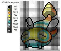 206 Dunsparce by cdbvulpix.deviantart.com on @deviantART