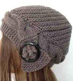 Women's knit cap | Knitting - Crocheting