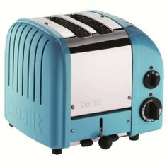DUALIT 2 Slice NewGen Classic Toaster Azure $199.95 LOWEST PRICE ANYWHERE-GUARANTEED...PICK UP OR WE WILL SHIP FREE WORLDWIDE... 100% MONEY BACK SATISFACTION GUARANTEE www.shopculinart.com