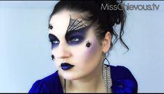 Aicitelks Vitrine® AVON: Especial Halloween 2012 - Makeup Viúva Negra http://aicitelksvitrineavon.blogspot.com.br/2012/10/especial-halloween-2012-makeup-viuva.html