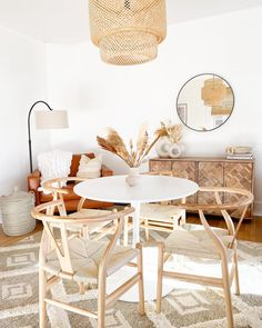 Designed by @modernly_you Boho Kitchen, Home Decor Styles, Room Chairs, Chair Design, Room Decor, Dining Rooms, Furniture, Bohemian, Inspired