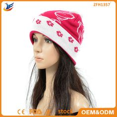new design Shenzhen factory knit hat styles