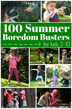100 Fabulous, Fun Activities for Kids to Do At Home this summer. Crafts, science, sensory play, recipes and more to keep kids 2-10 entertained and learning all summer long - Happy Hooligans  via @https://www.pinterest.com/happyhooligans/