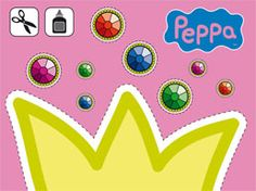 peppa pig crown