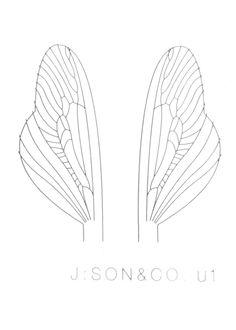 J:son Spent Stonefly Caddis Wing Material & Burner