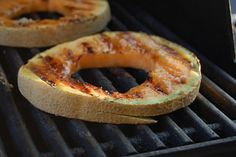 Bringing Home the Harvest: Grilled Cantaloupe. . .Who knew?