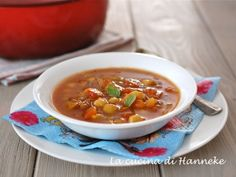 zuppa di ceci marocchina