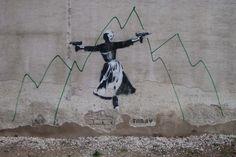 Tabby, street art para romper con la rutina (Yosfot blog)