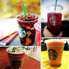 Don't exceed your recommended daily caloric intake with one drink! Here is a list of low calorie meals and refreshing beverages, from Starbucks, that are sure to keep you and your fitness goals in check.