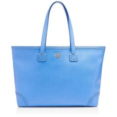 Tory Burch Robinson Spectator Tote ($550) ❤ liked on Polyvore
