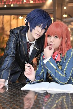 uta no prince sama cosplay | Uta no Prince Sama - Tokiya x Nanami cosplay