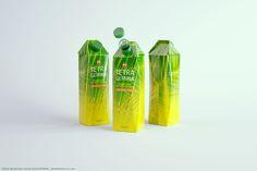 Packaging 3d model of Tetra Gemina Lieaf 1000ml with HeliCap 27 (Octane)