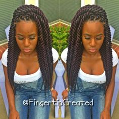 STYLIST FEATURE| Love these #ropetwists done by #LittleRockStylist @Fingertipcreated❤️ Her hair is GORGEOUS #VoiceOfhair
