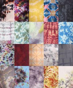 everyone could tye dye a square and we could make a quilt!
