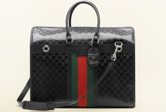 Special Edition Pet Carrier by Gucci From a collection inspired by the partnership between two of Italy's style powerhouses, Fiat and Gucci, this mesh and leather bag features red and green racing stripes and Gucci's signature GG imprimé.  USD 2,600; gucci.com