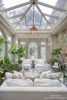 Inspired by Conservatories – Blue and White Home