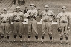 Babe Ruth and Other Red Sox Pitchers, 1915 via Smithsonian's National Portrait Gallery #baseball