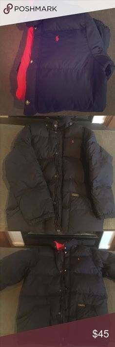 Big Boys Polo Coat XL, Polo Down Jacket, excellent used condition, no stains or damage but missing the detachable hood Polo by Ralph Lauren Jackets & Coats Puffers